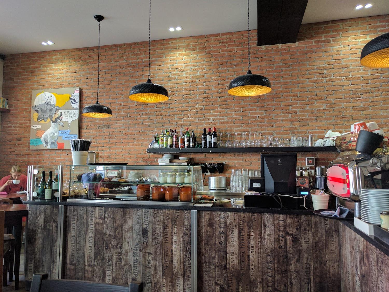 brick cafe - lisbon, pt
