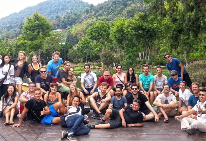 Hacker Paradise cohort in Chiang Mai, Thailand