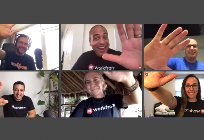 Workfrom Virtual Retreat Team Photo
