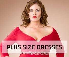 Wholesale plus size fashion dresses