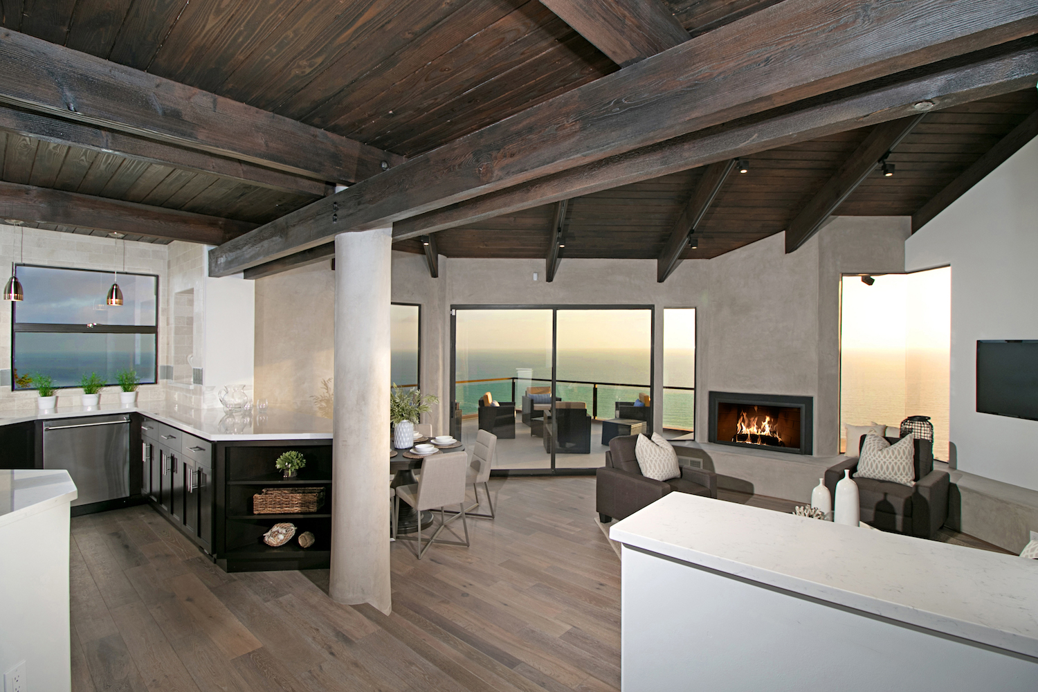 California coastal modern