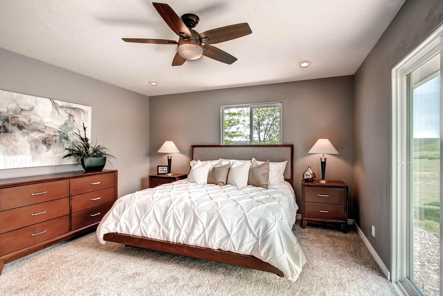 California Coastal Master Bedroom