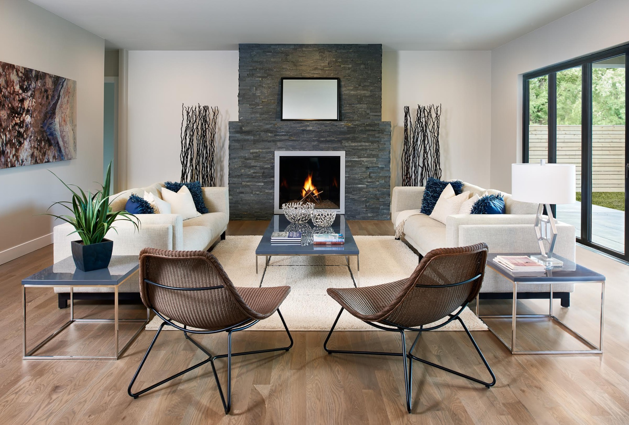 california contemporary living room - Home Staging Design
