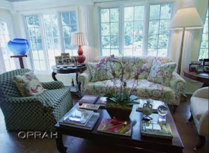 Hillary Clinton's Living Room