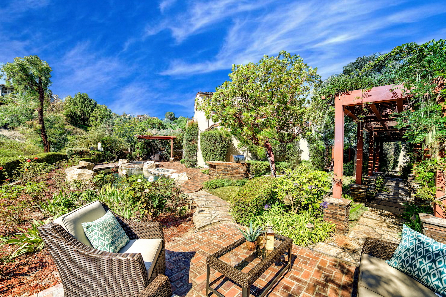 California mediterranean style home staging design by for California mediterranean style homes