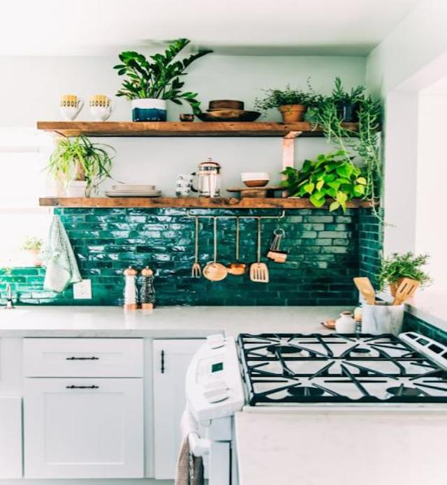 kitchen trends greenery home staging
