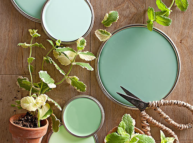 spring paint colors home staging