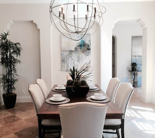 Orange County real estate home staging