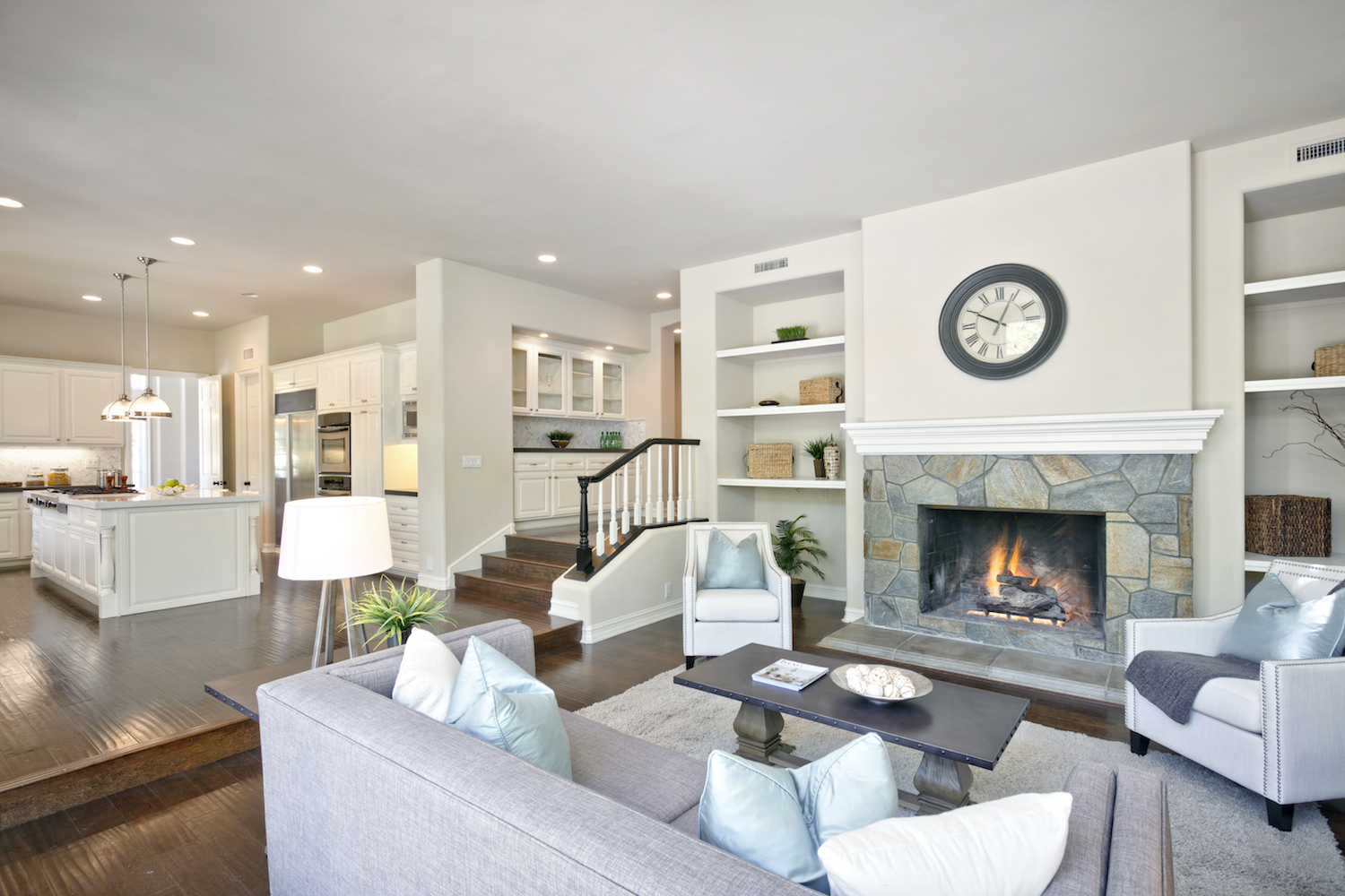 Casual Contemporary Style - Home Staging Design by White Orchid ...