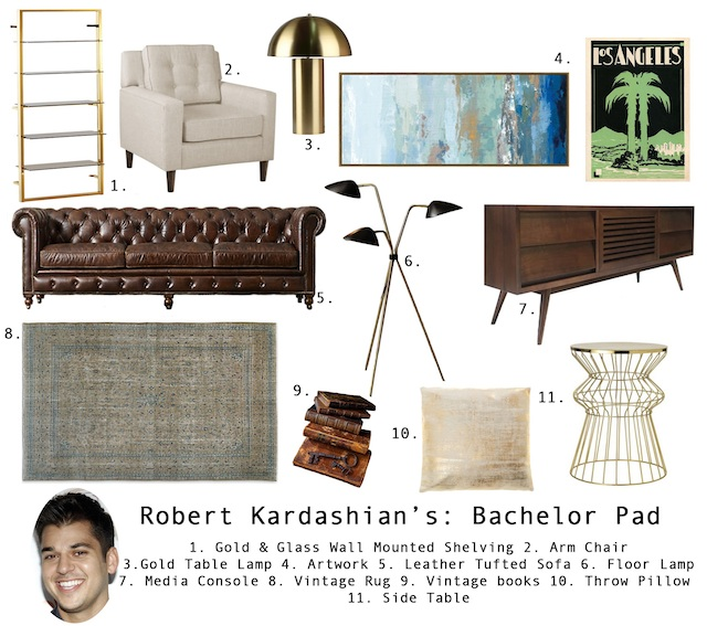 Rob Kardashian House Home Staging