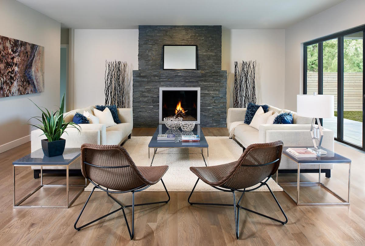 luxury modern staging