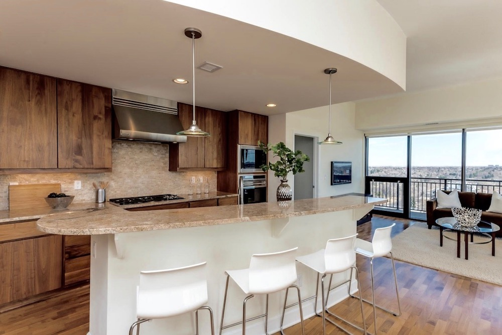Modern Home Staging For Kitchen