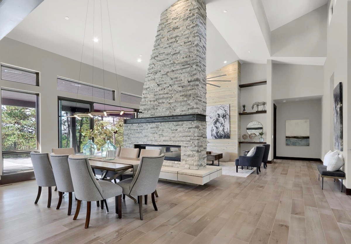 Casual Modern Model Home Staging