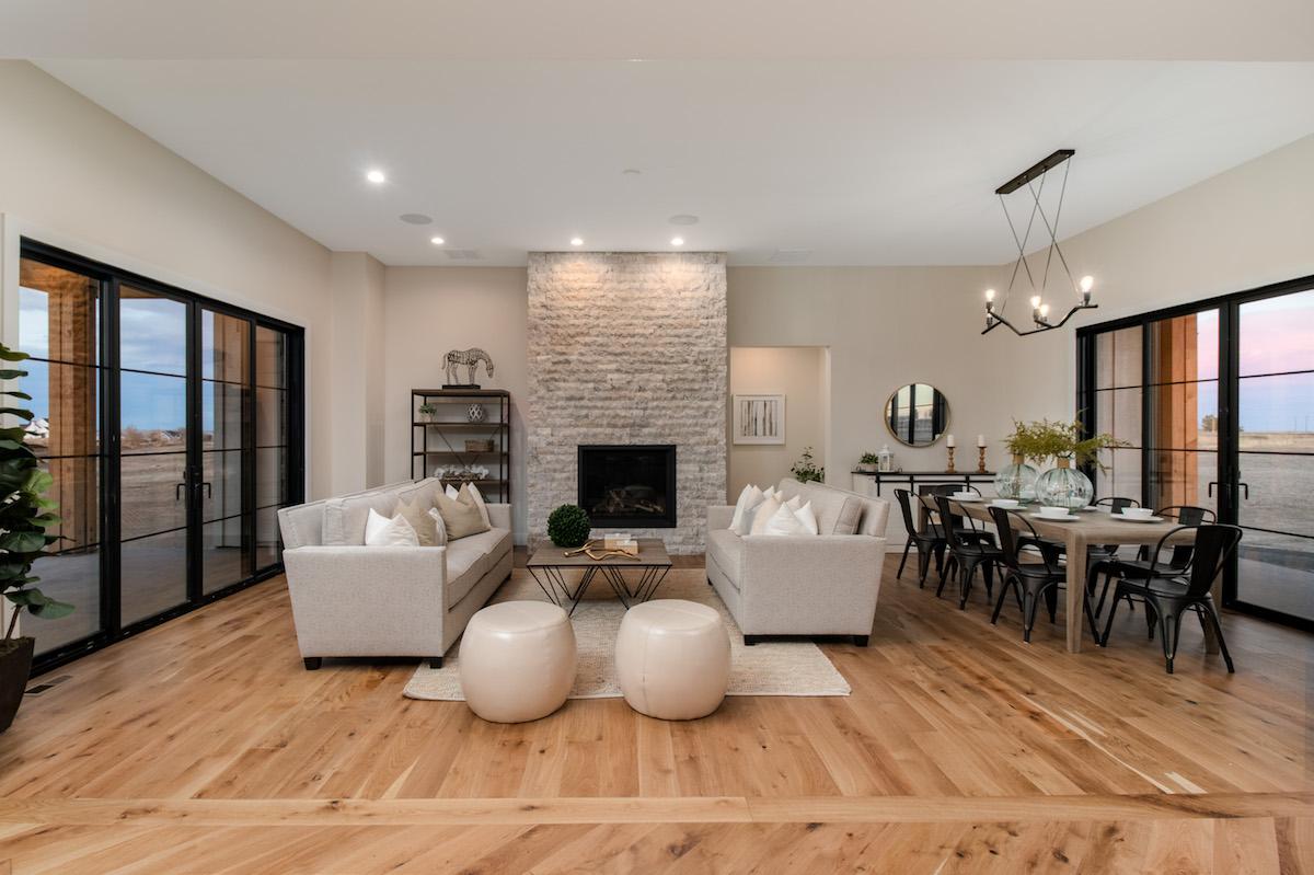 builder spec home staging