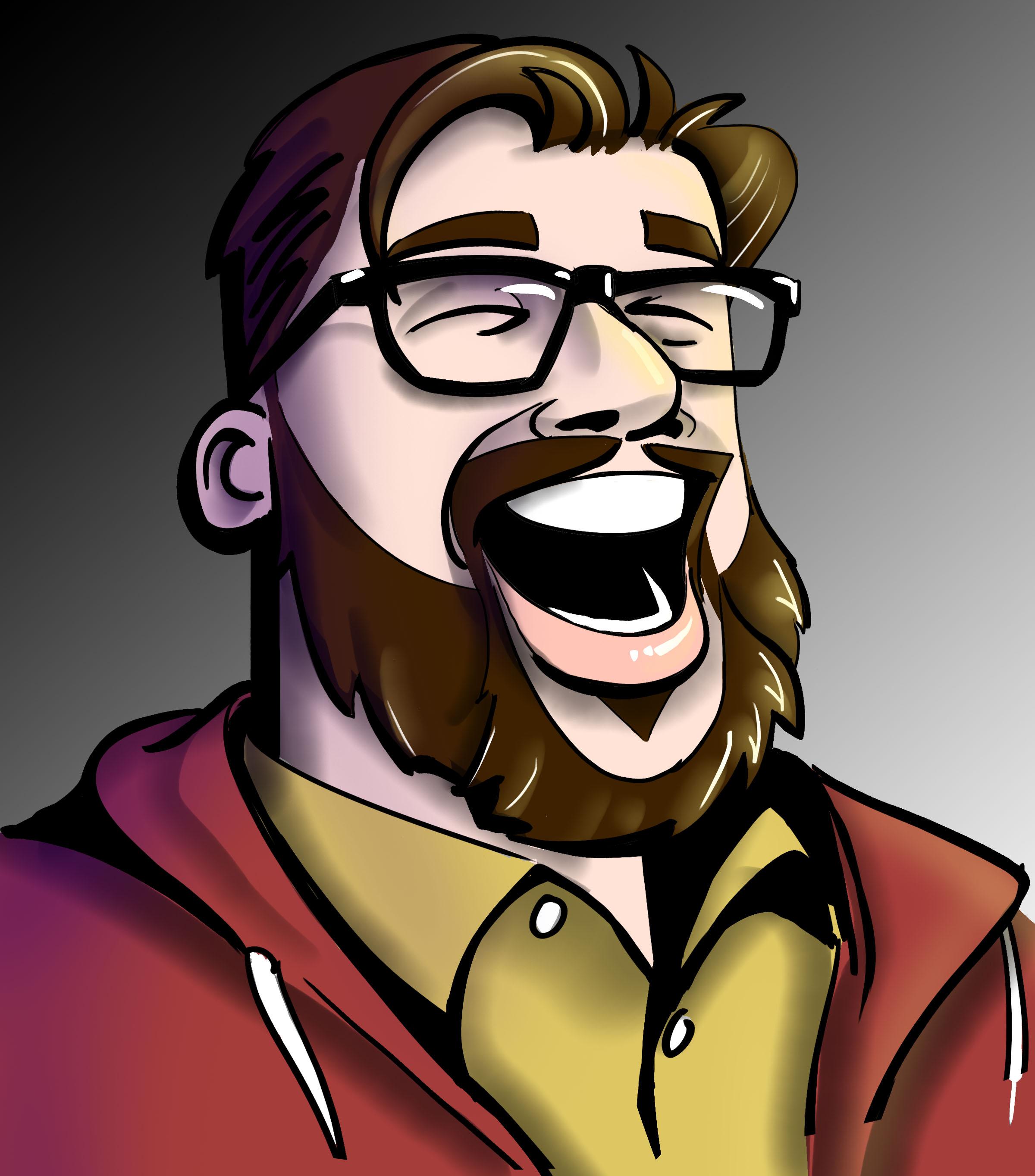Andrew caricature