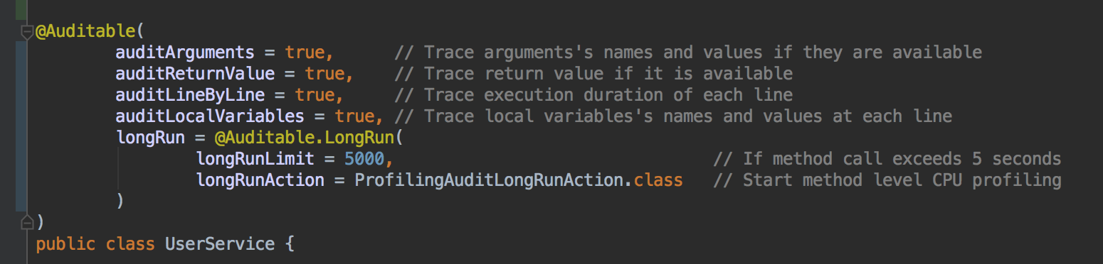 trace-by-annotation
