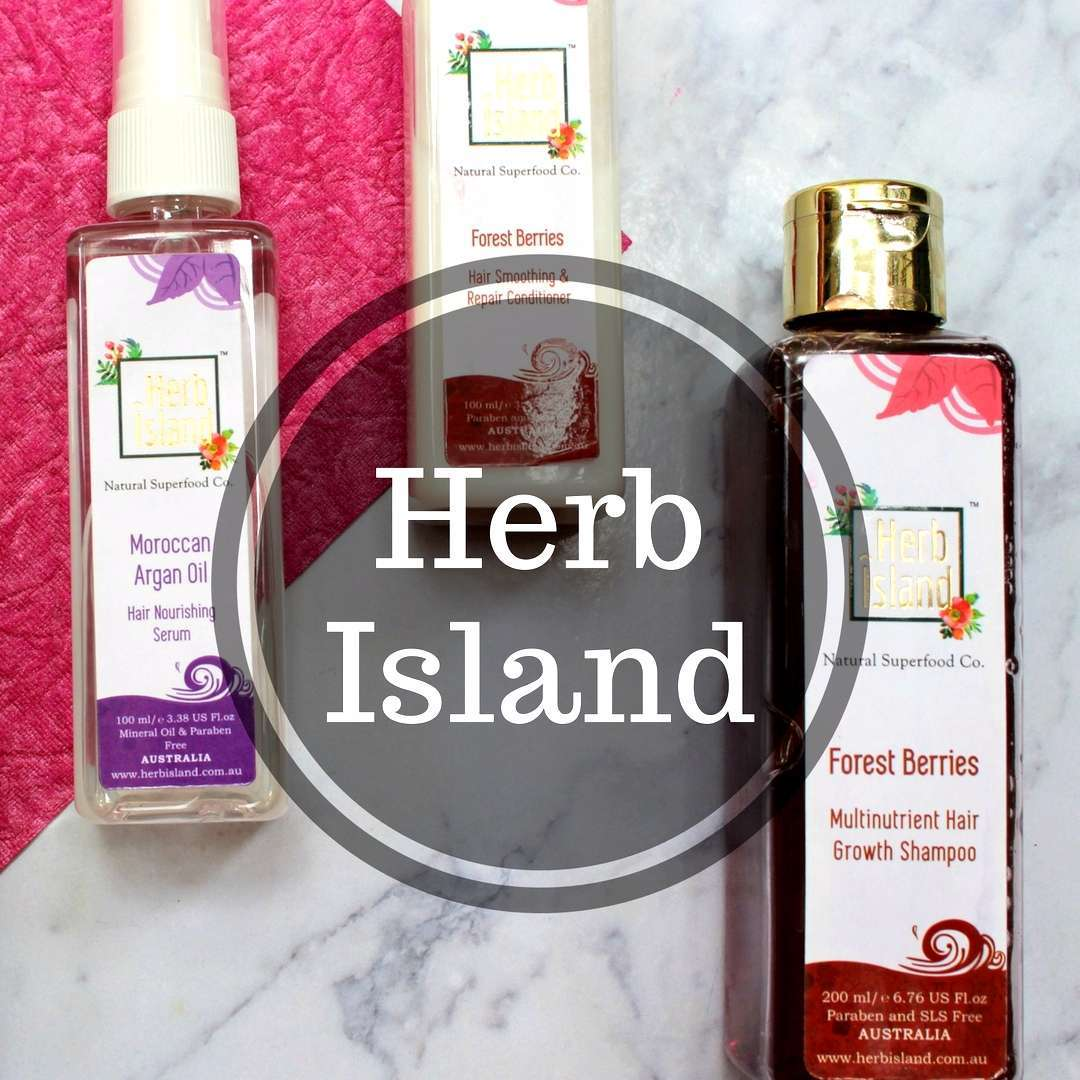 Everyday hair care routine with Herb Island  image