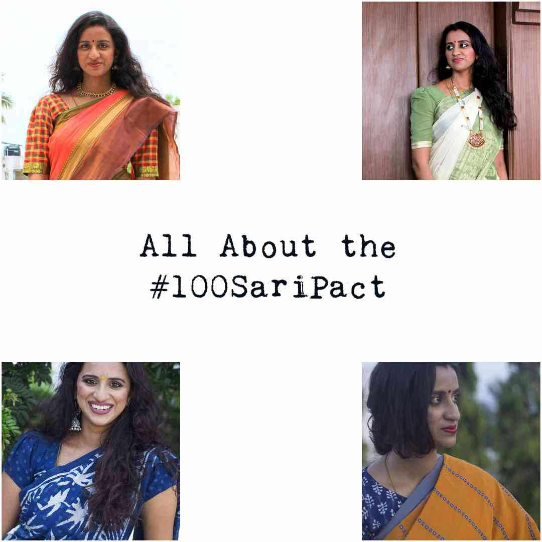 All About the 100 Saree Pact image