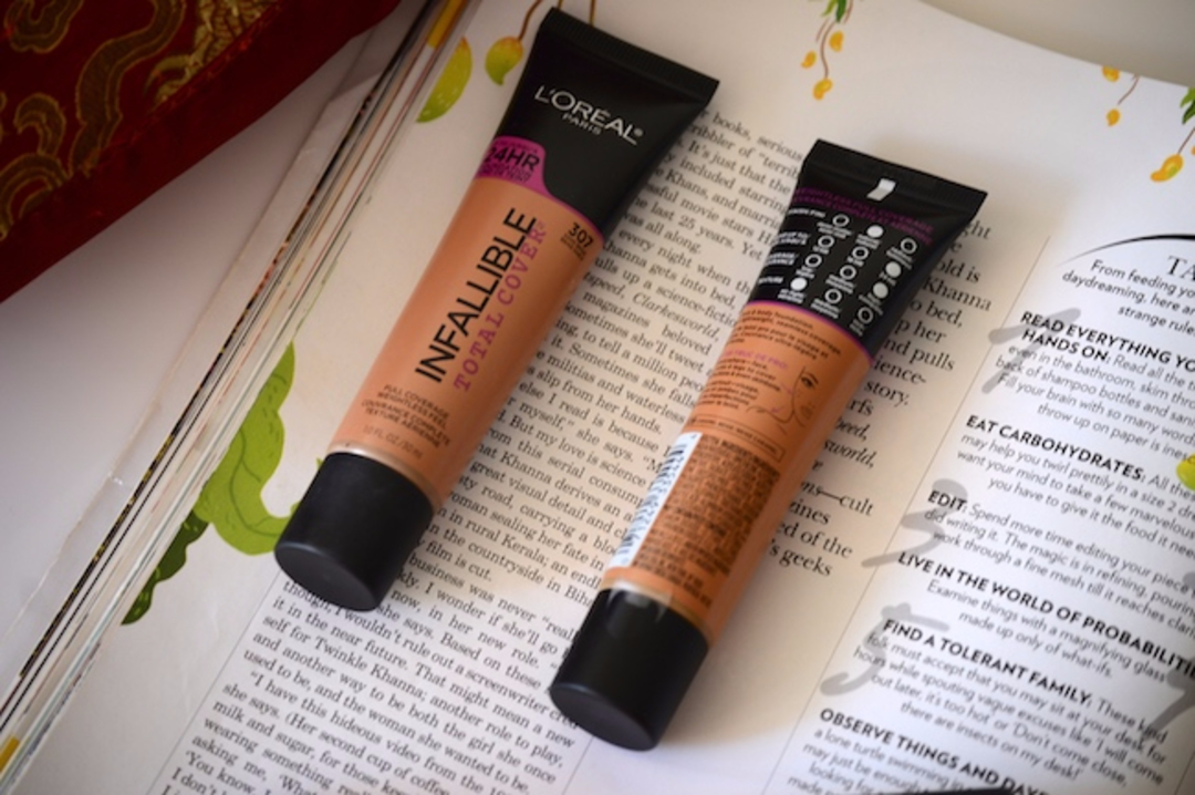 Loreal Infallible Total cover Foundation image
