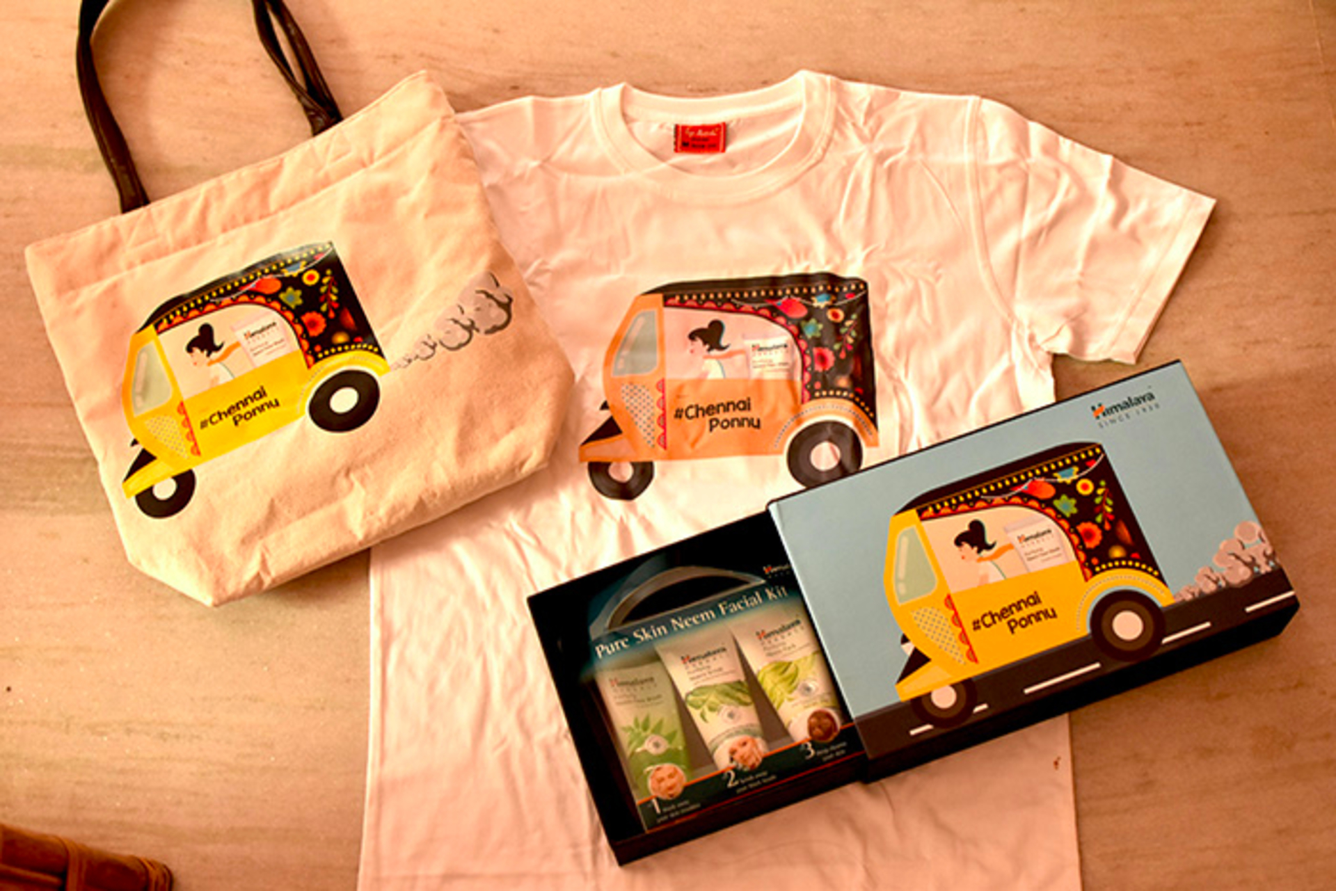 Chennai Ponnu- a campaign by Himalaya-product/campaign review image