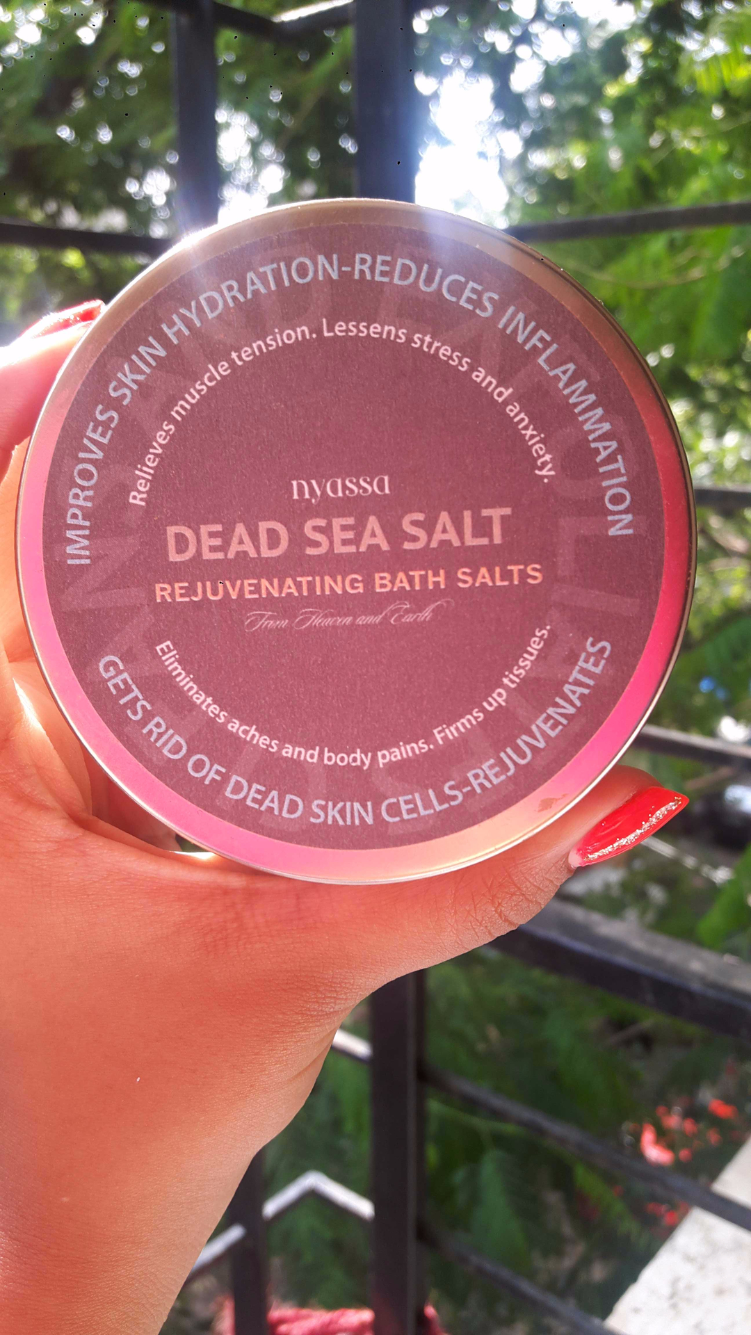Nyassa Dead Sea Bath Salt Review image