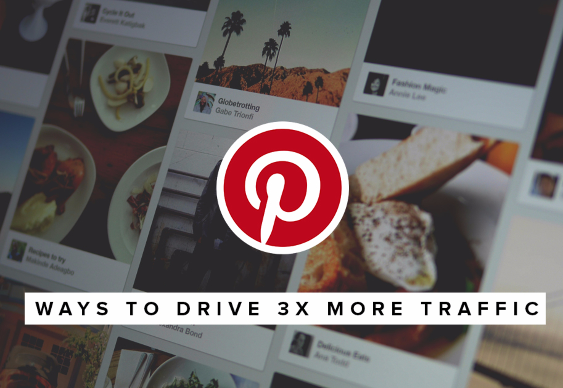 5 ways to drive 3x more traffic to your blog from Pinterest image