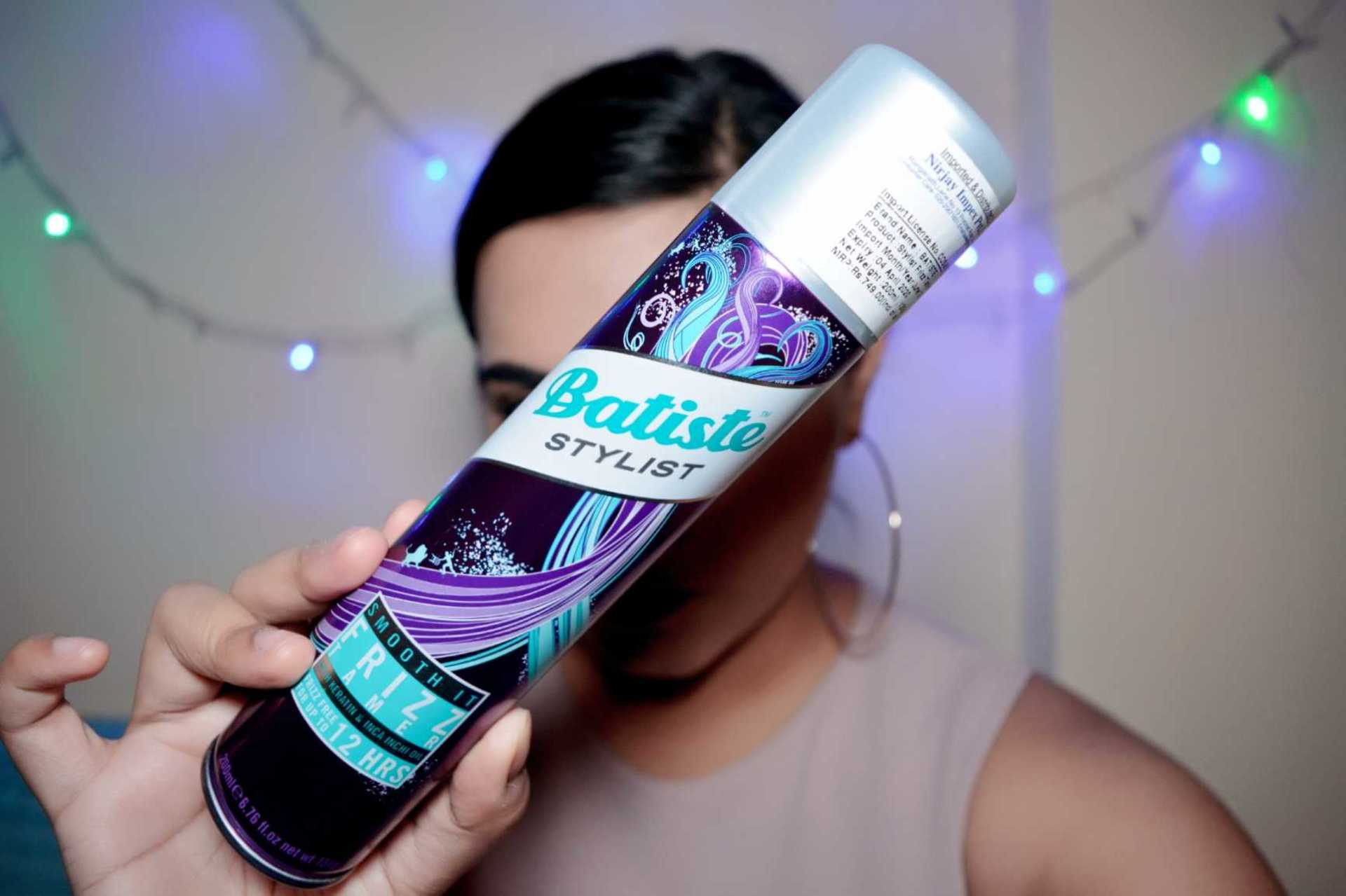 Batiste Stylist Frizz Tamer Spray Review image