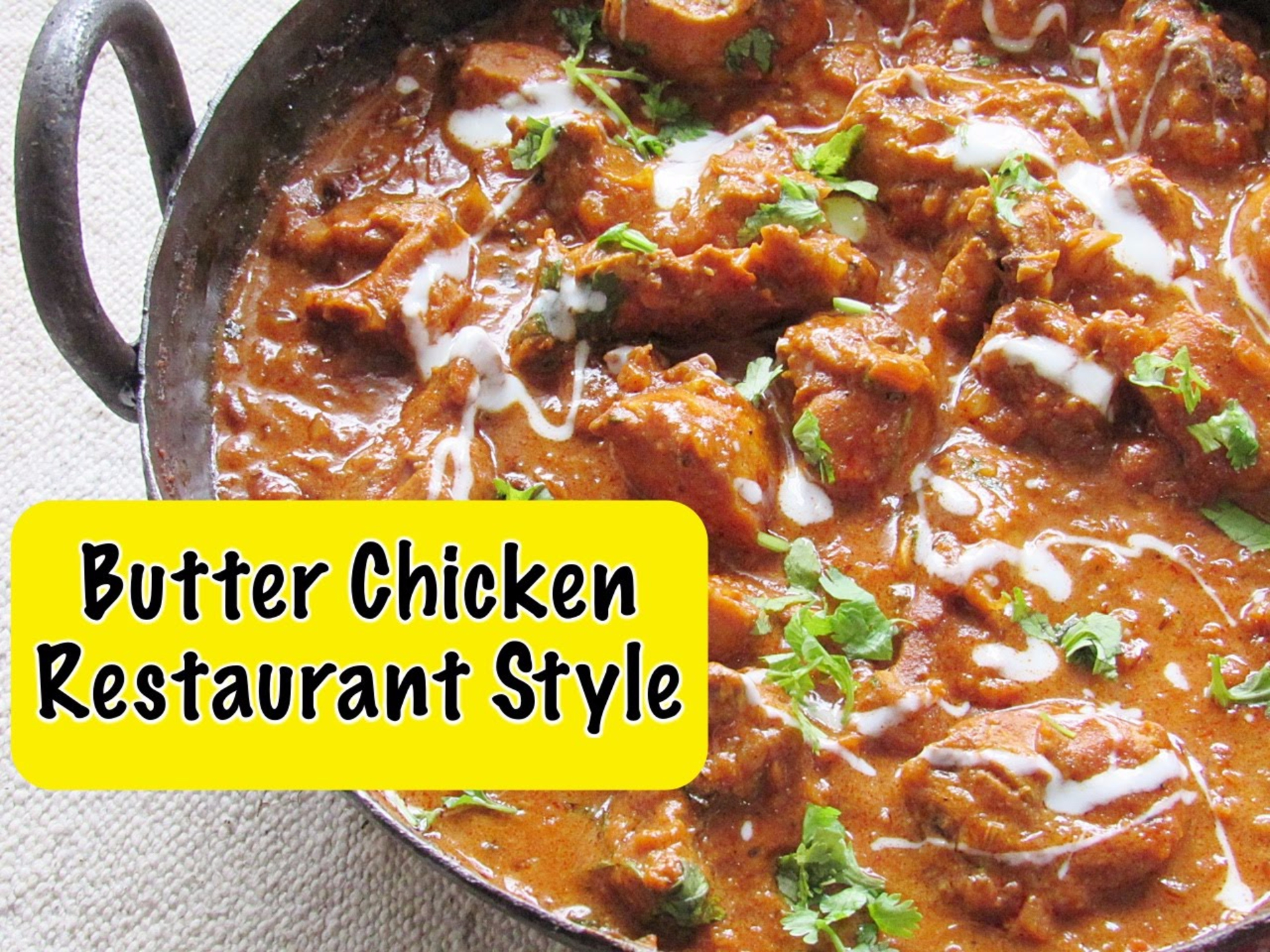 Butter Chicken or Murg Makhani - Recipe image