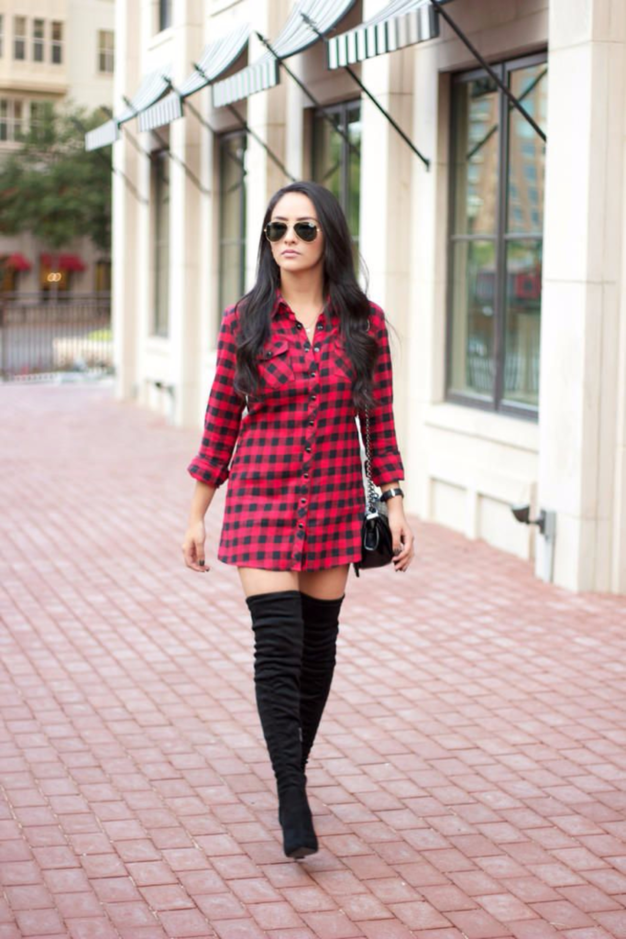 Checked Shirt Dresses : Why this summer staple is going to be a Fall 2017 essential image