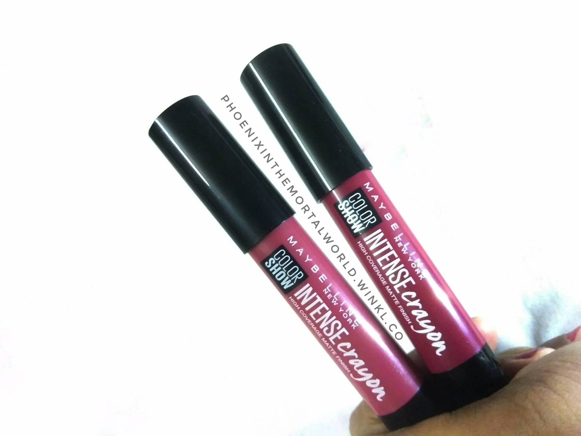 NEW LAUNCH! ALL SHADES SWATCHED! Maybelline Colorshow Intense Crayons - Review image
