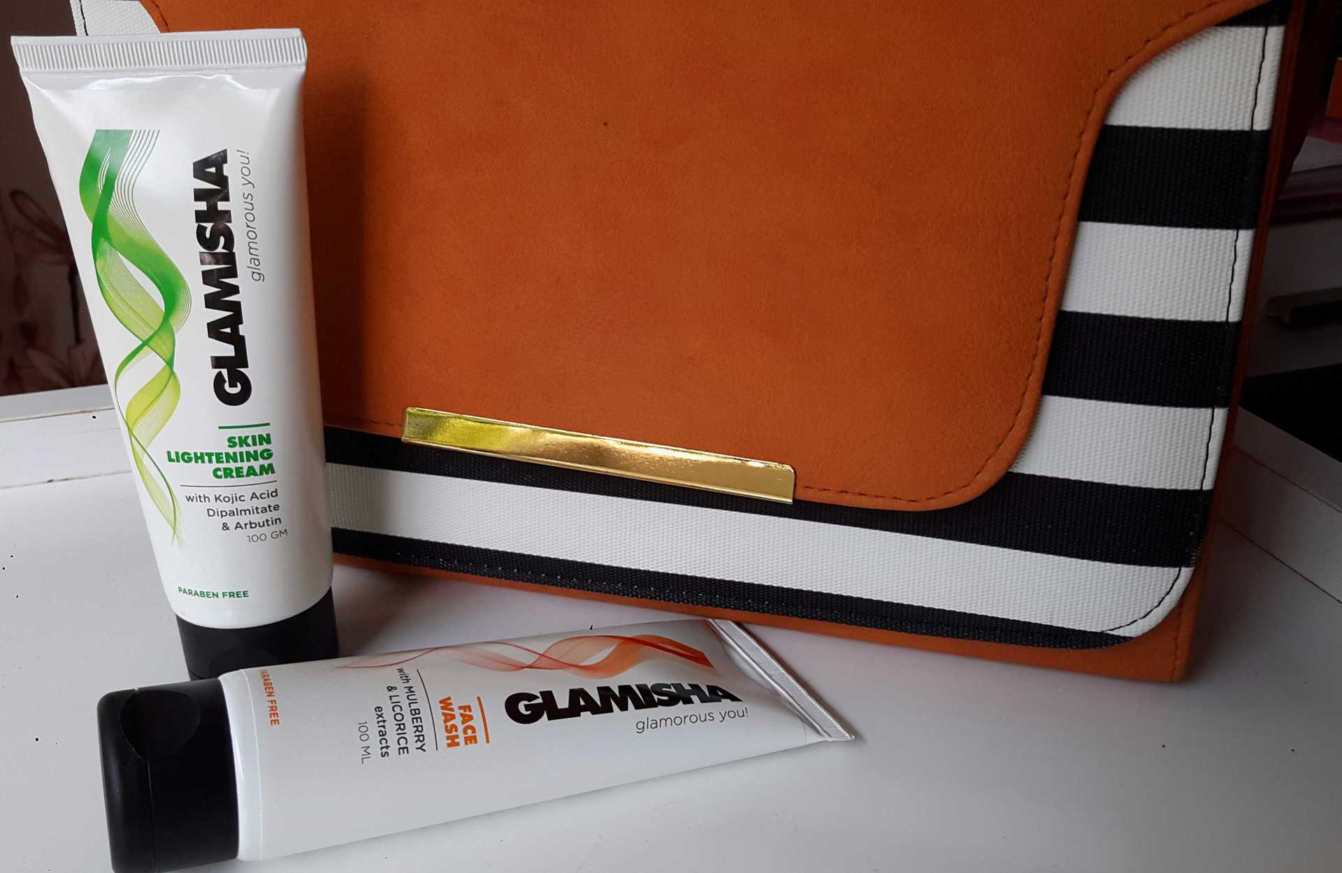 Glamisha Facewash & Skin Lightening Cream Review image