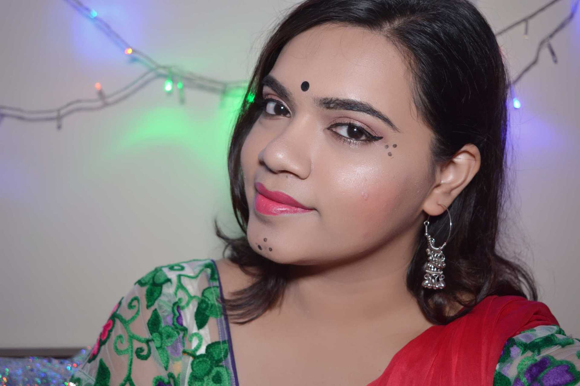 Navratri 2017 Makeup Tutorial image