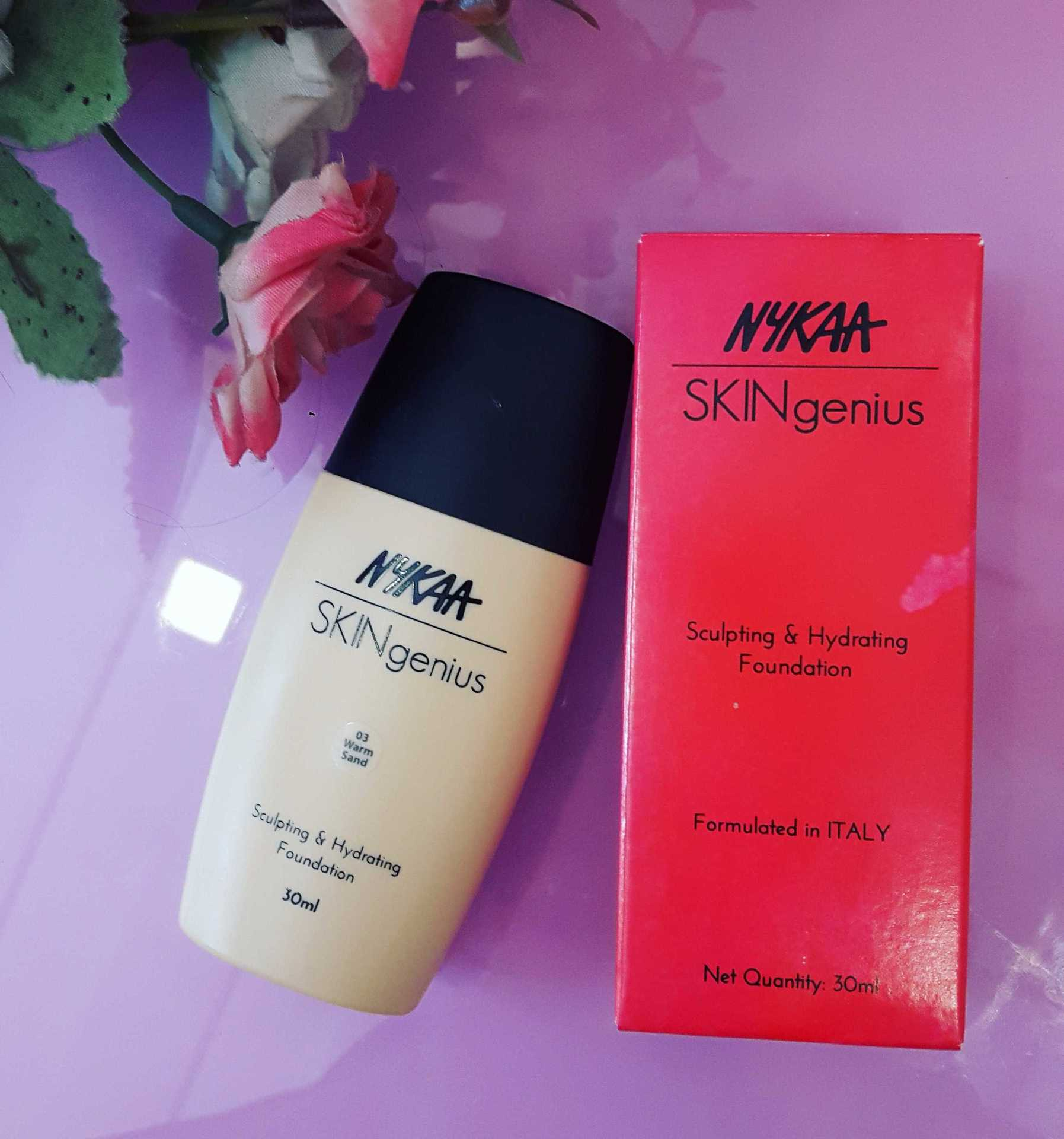 Nykaa Skin Genius Foundation Review  image