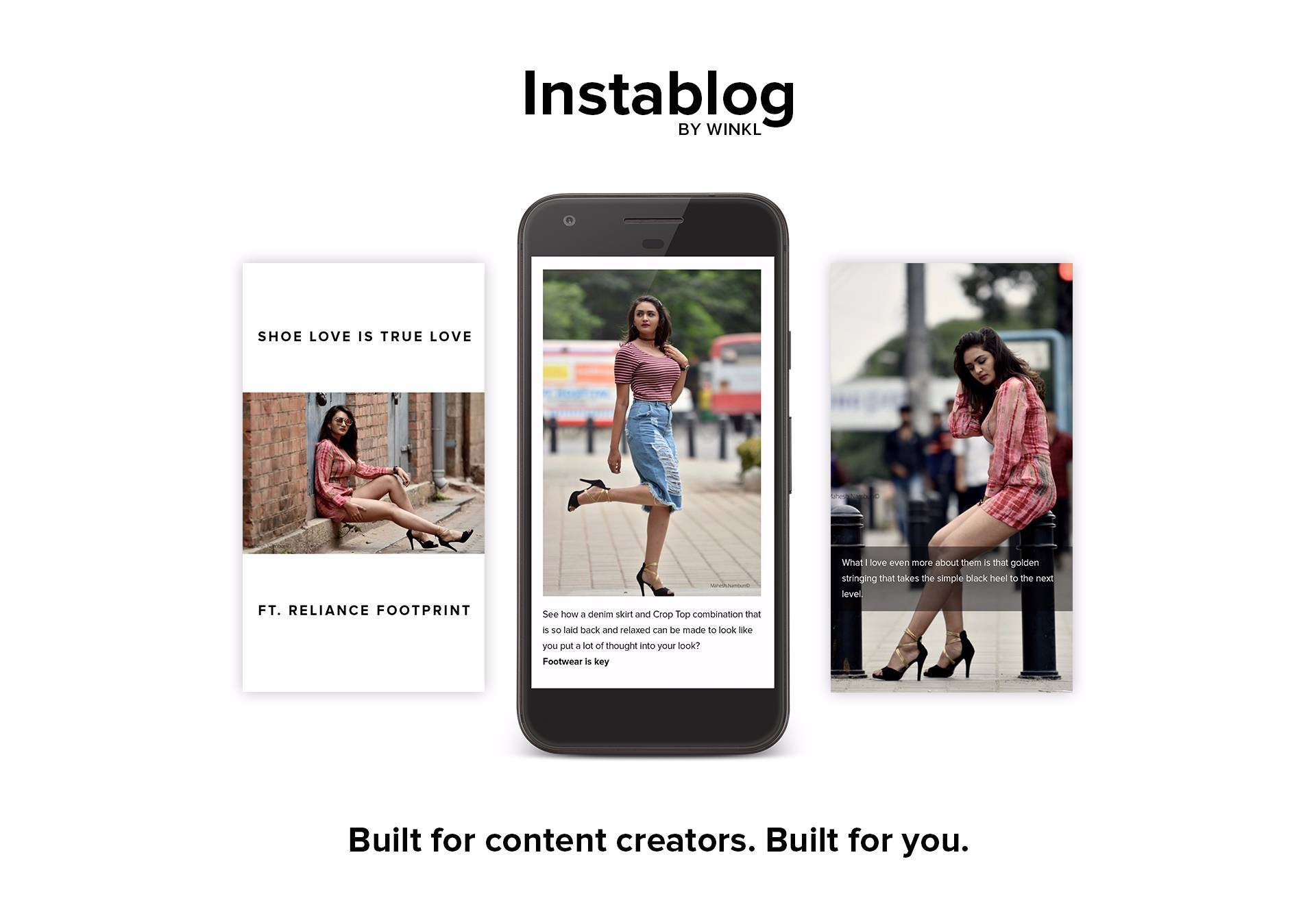 Instablog by Winkl: The future of blogging image