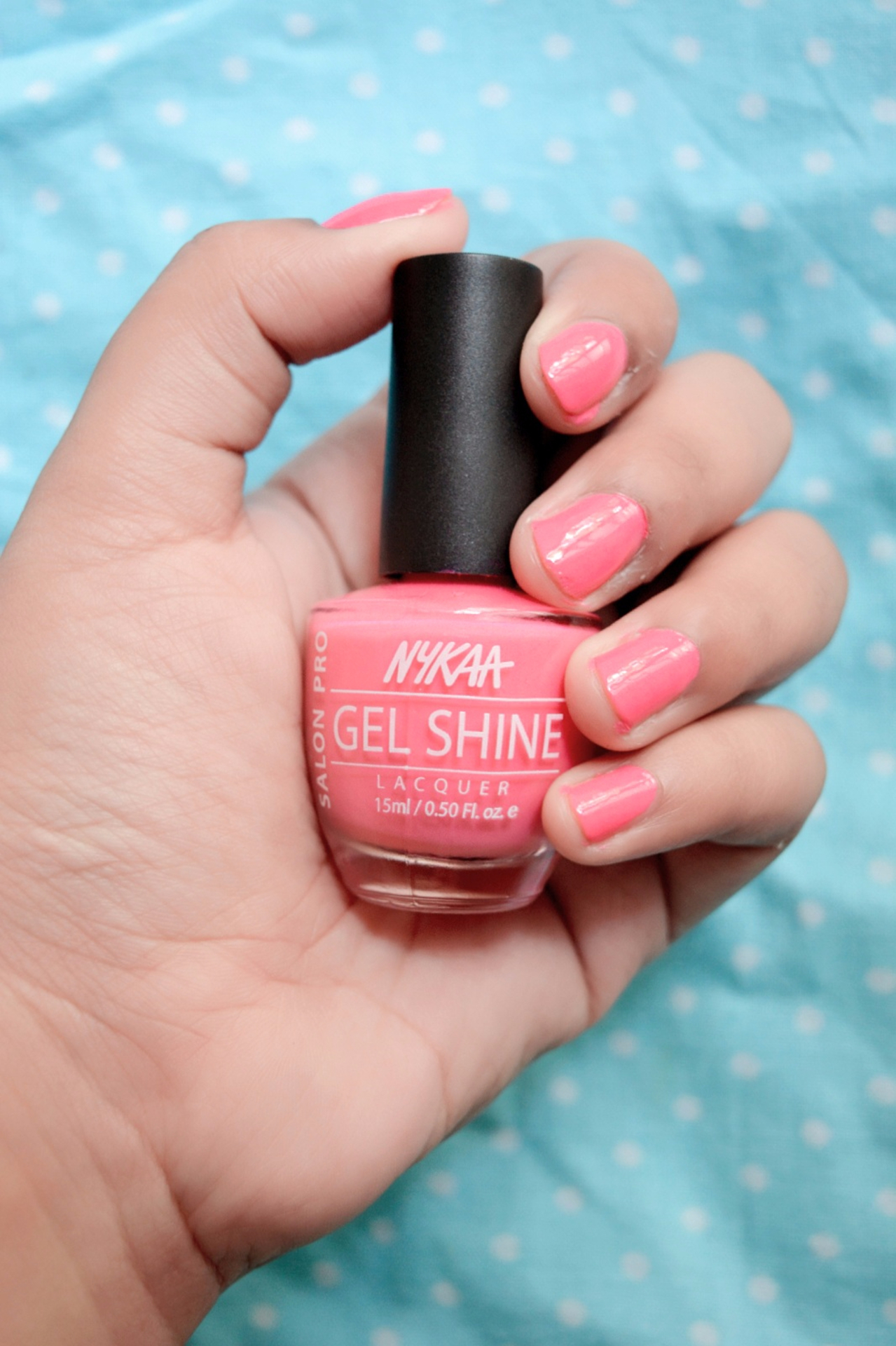 Nykaa Salon Pro Gel Shine Nail Lacquer Review image