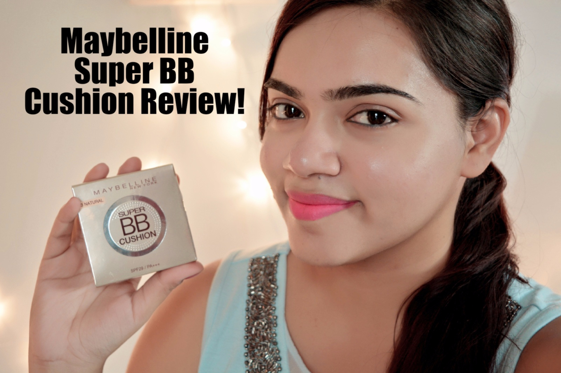 Maybelline New York Super BB Cushion Review image