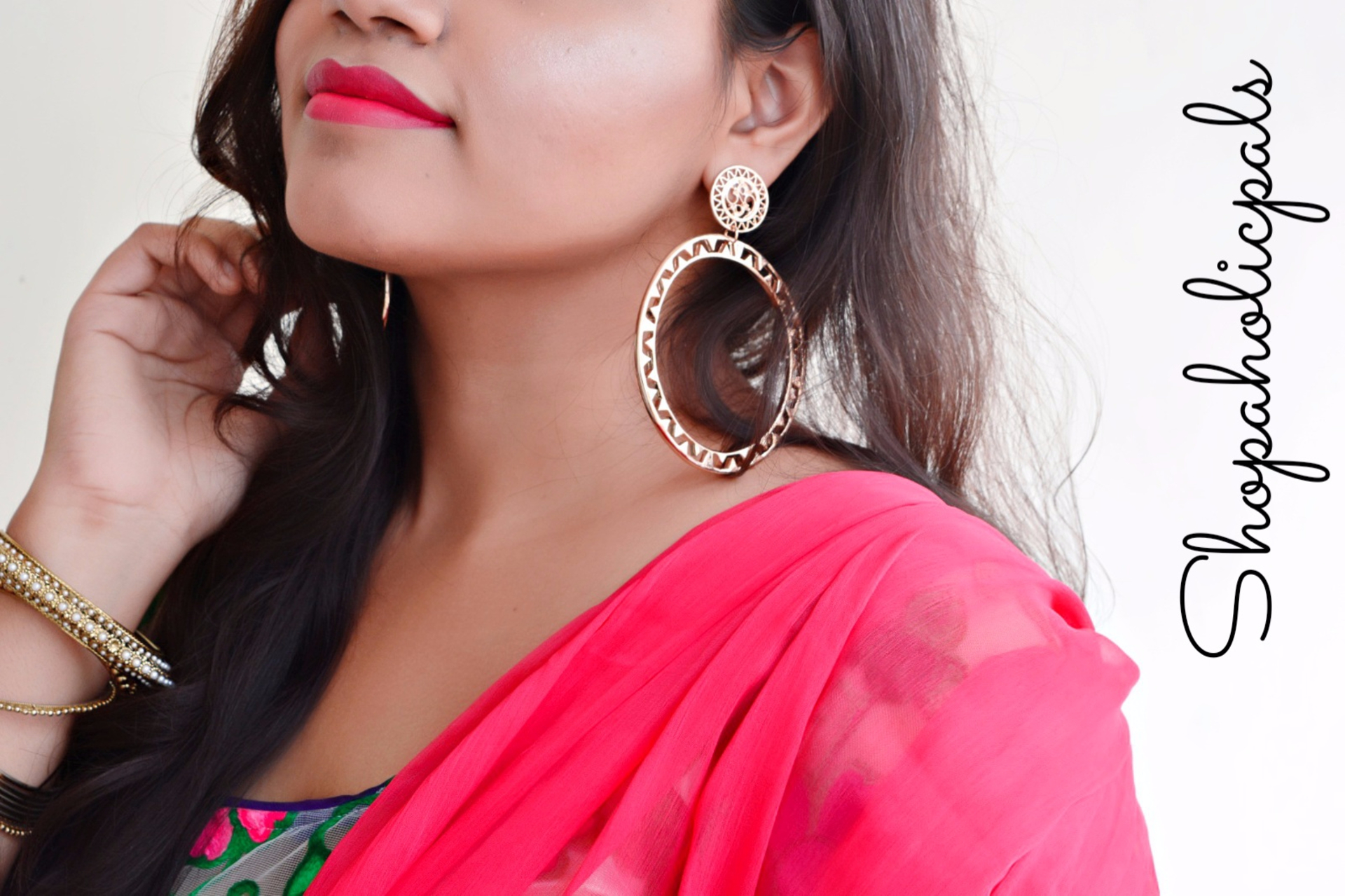 New Video: Get Ready With Me + Makeup Tutorial for Navratri! image