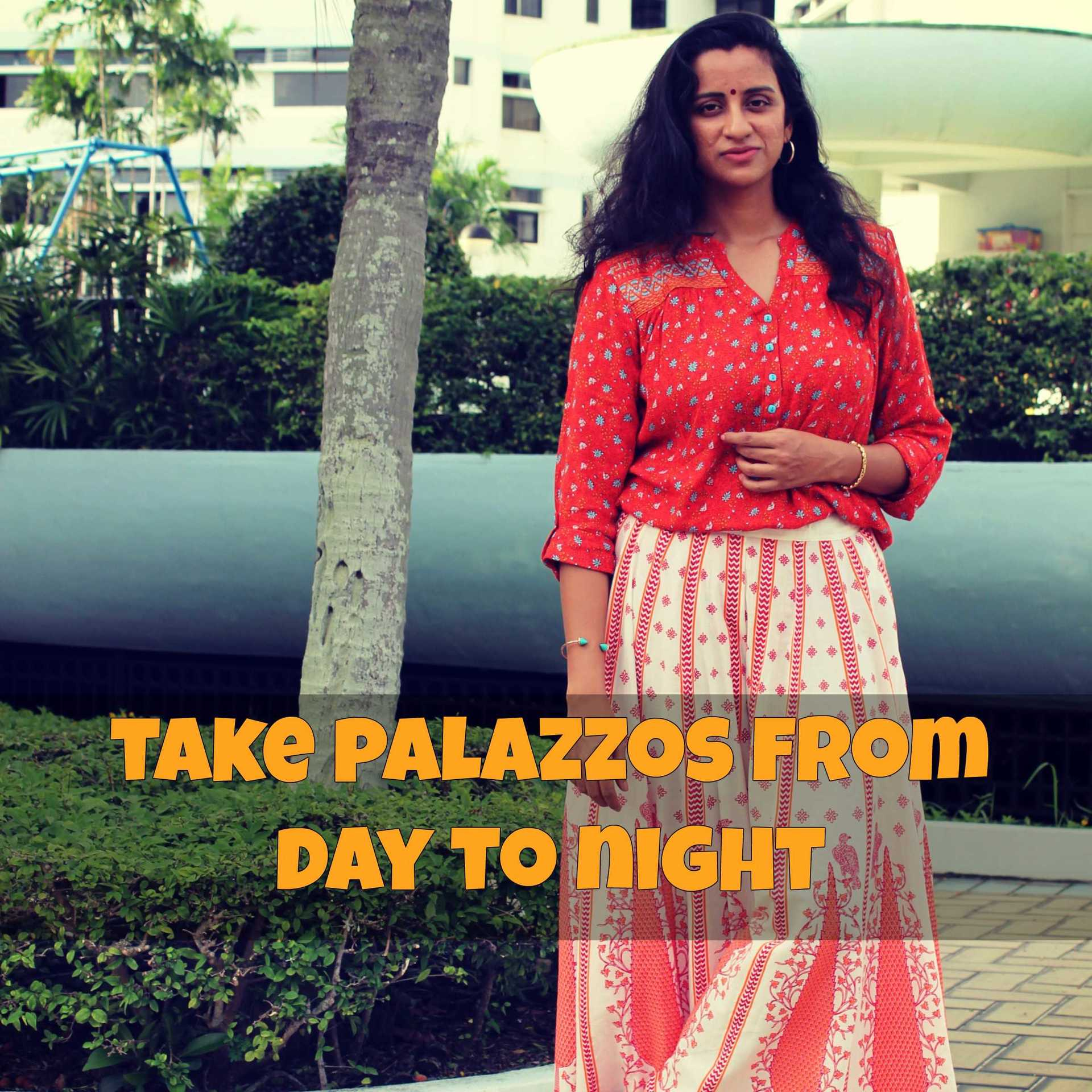 Vacation outfit- Day to Night ft Shoppers Stop image