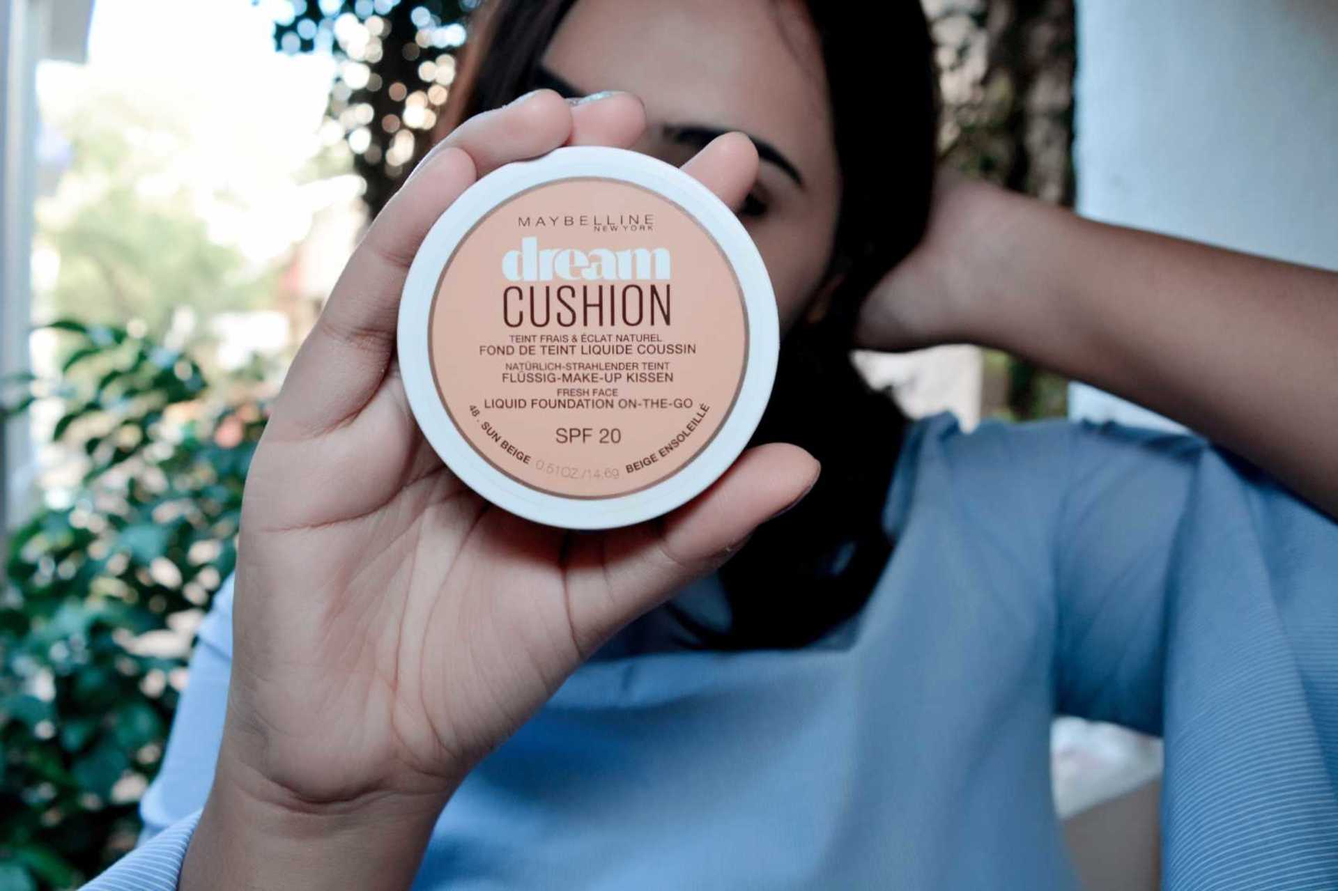 Maybelline Dream Cushion Review + Comparision with Maybelline BB Cushion image
