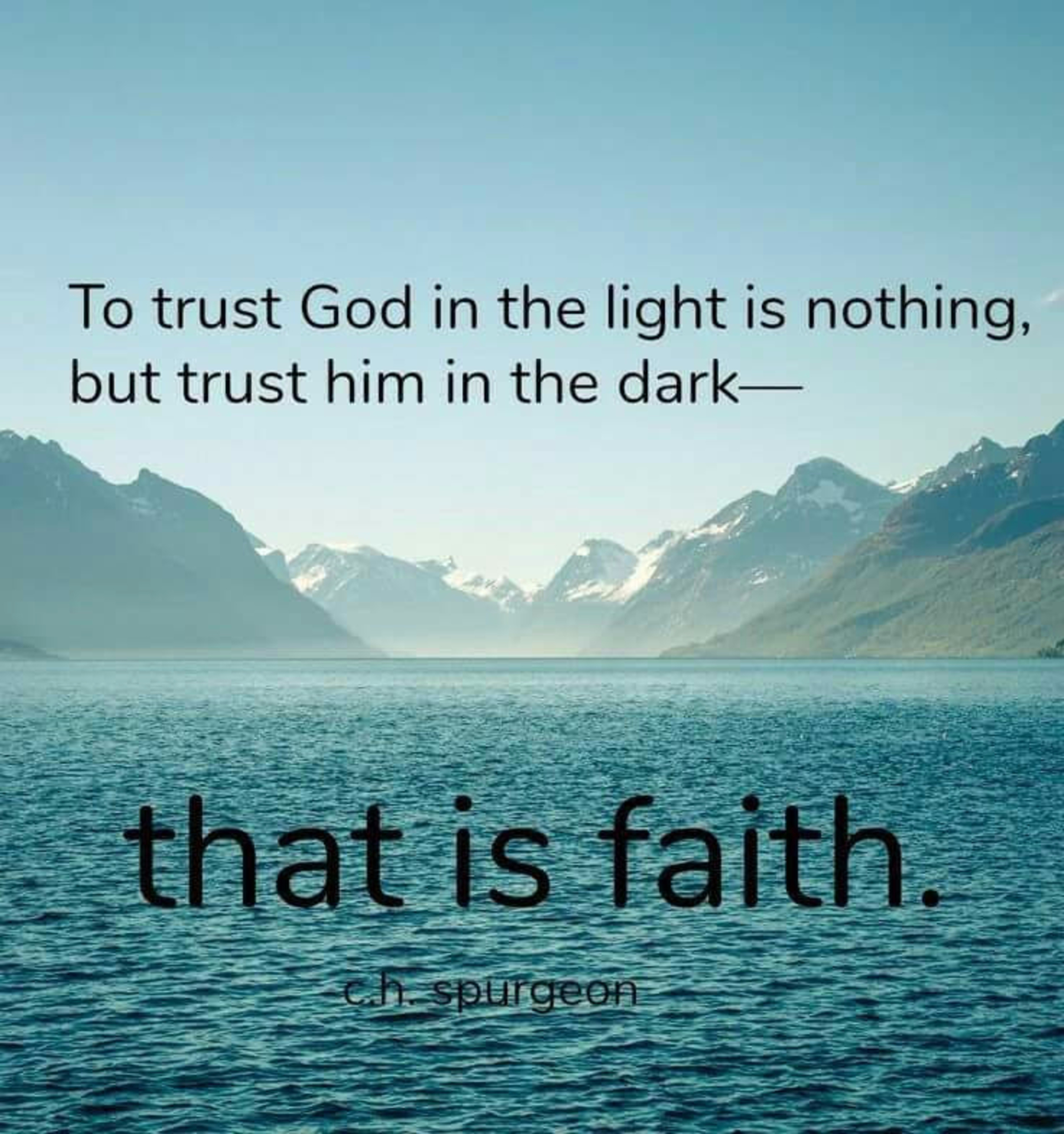 That is Faith! image