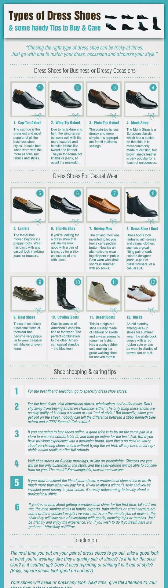 What & How : Infographics for Shoes! image