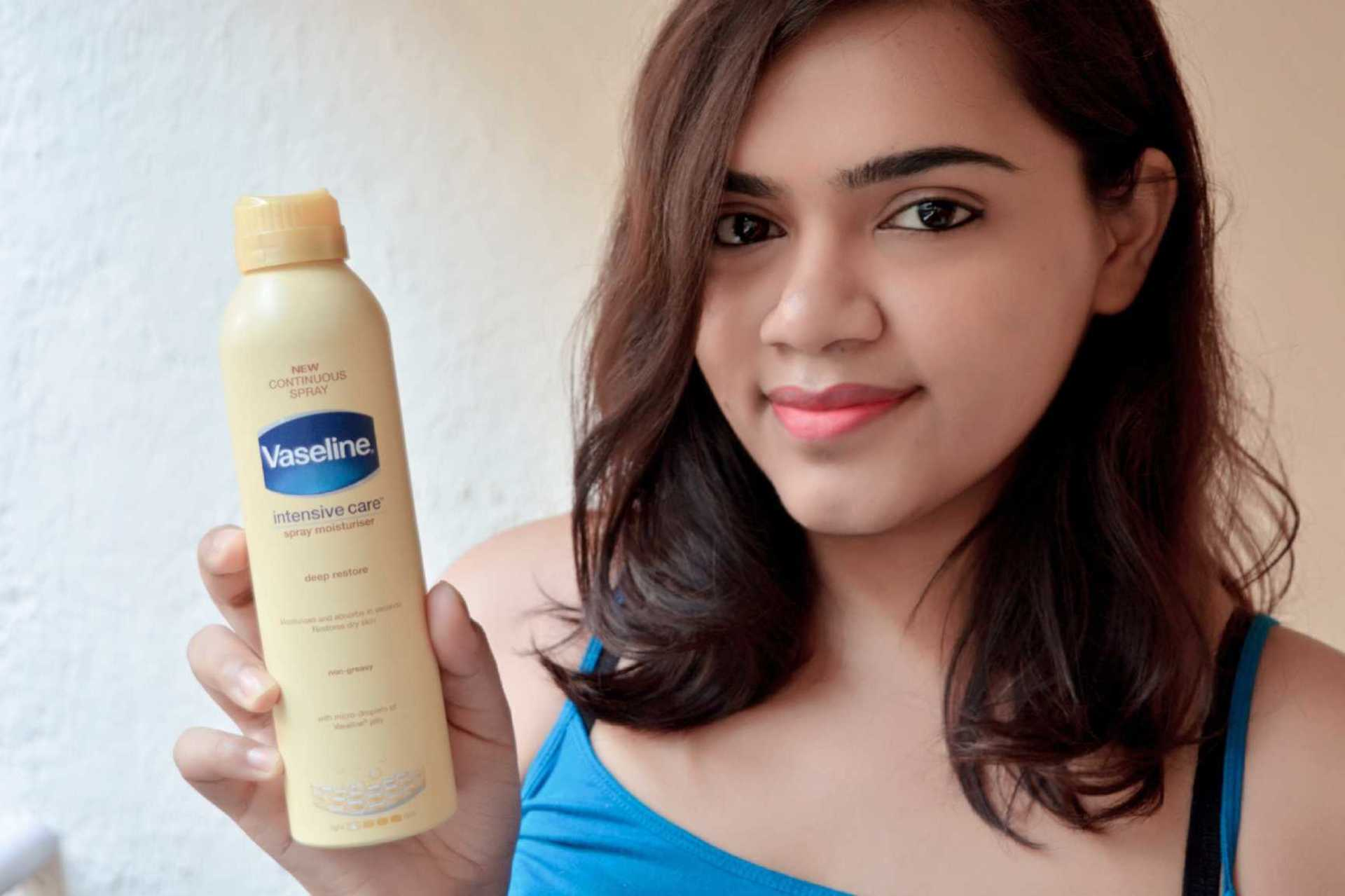 Vaseline Intensive Care Spray Moisturizer Review image