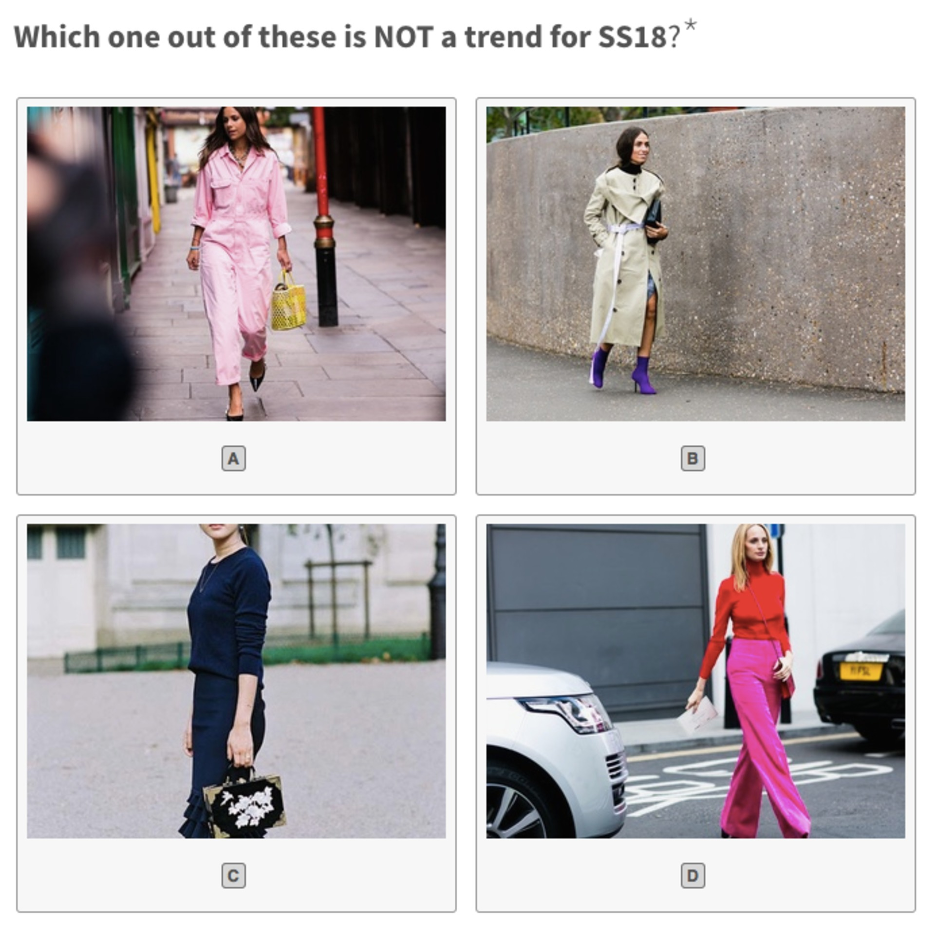 The Fashion Frenzy Contest - Answers! image