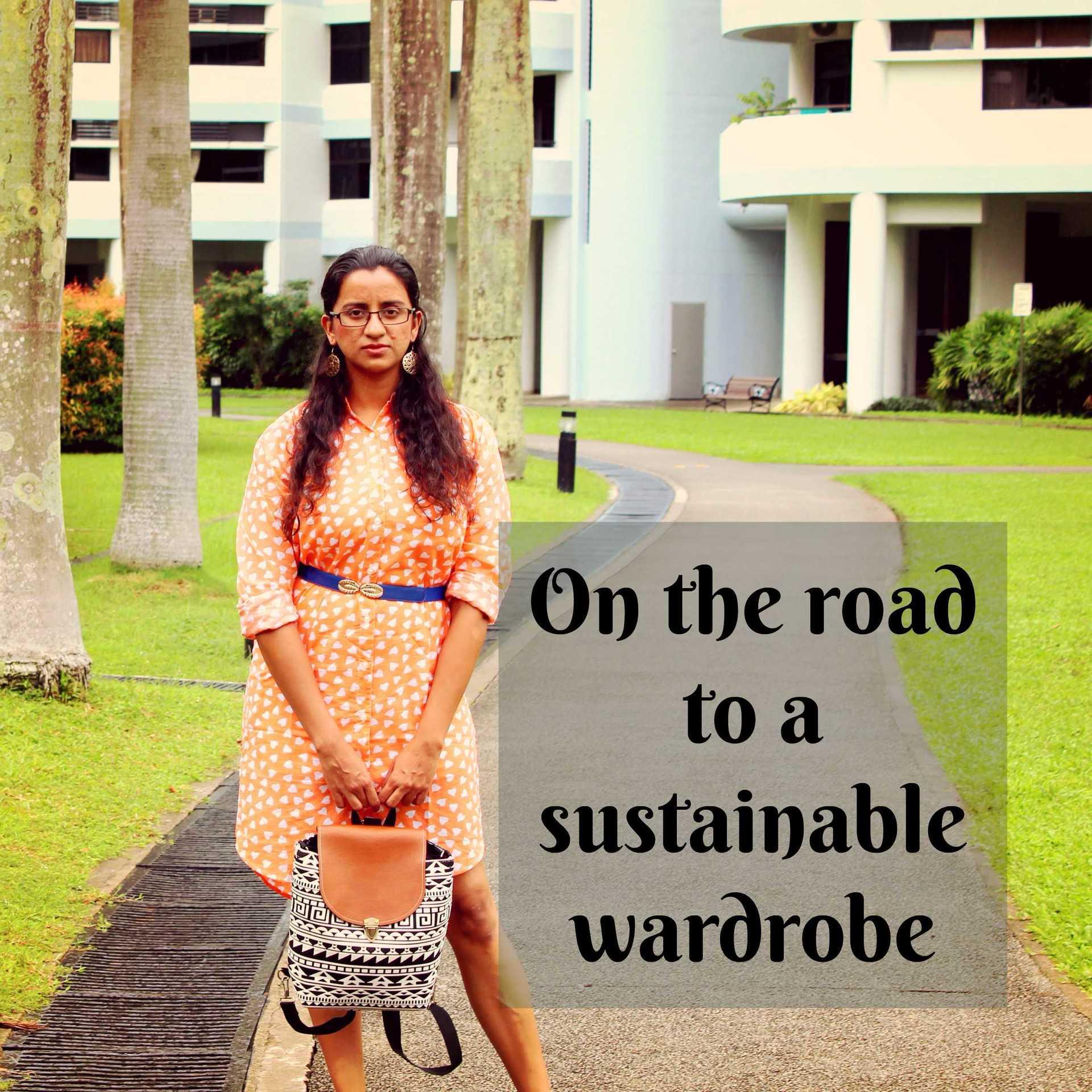 Transitioning into sustainable fashion image