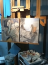 Work in progress by Artist Kirstine Reiner Hansen