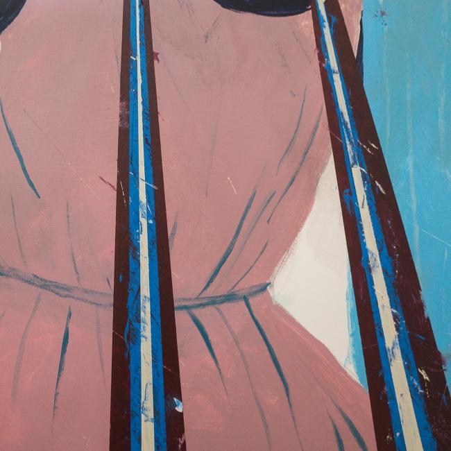 Studio wip by Artist Kenichi Hoshine