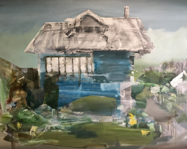Studio wip by Artist Daniel Ochoa
