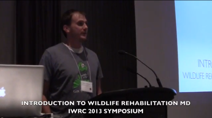 Introduction to Wildlife Rehabilitation MD at IWRC 2013