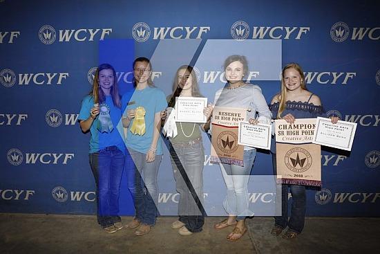 2018 Wharton County Youth Fair Expo - Exhibitors Awards