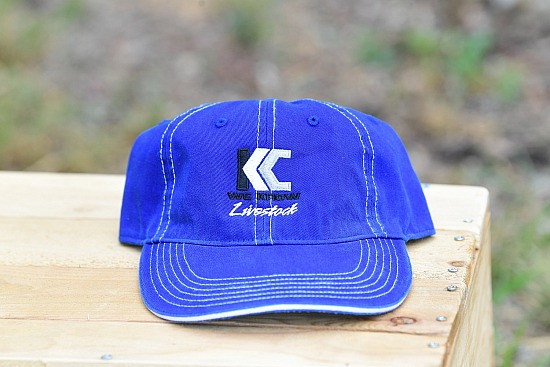 R-325 Style Hat Blue with logo